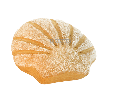 Muschelbrötchen dunkel 85g