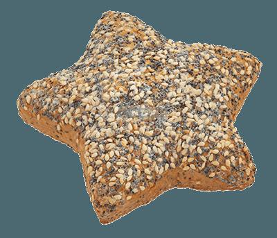 Sternenbrötchen-Mehrkorn