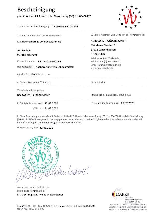 Agreco_Zertifikat